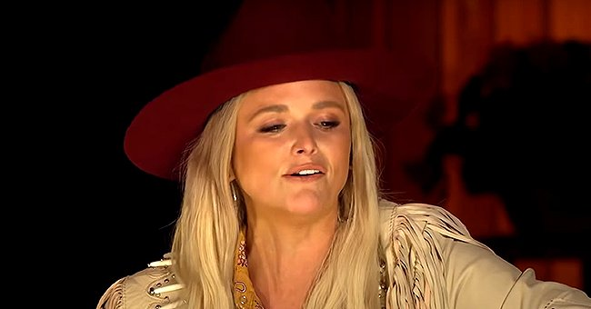 Miranda Lambert Wows in Red Hat & Nude Leather Jacket during Her Campfire CMT Performance