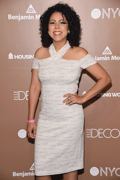 Evette Rios at Housing Works Design on a Dime Opening Night on April 27, 2017 in New York City | Photo: Getty Images
