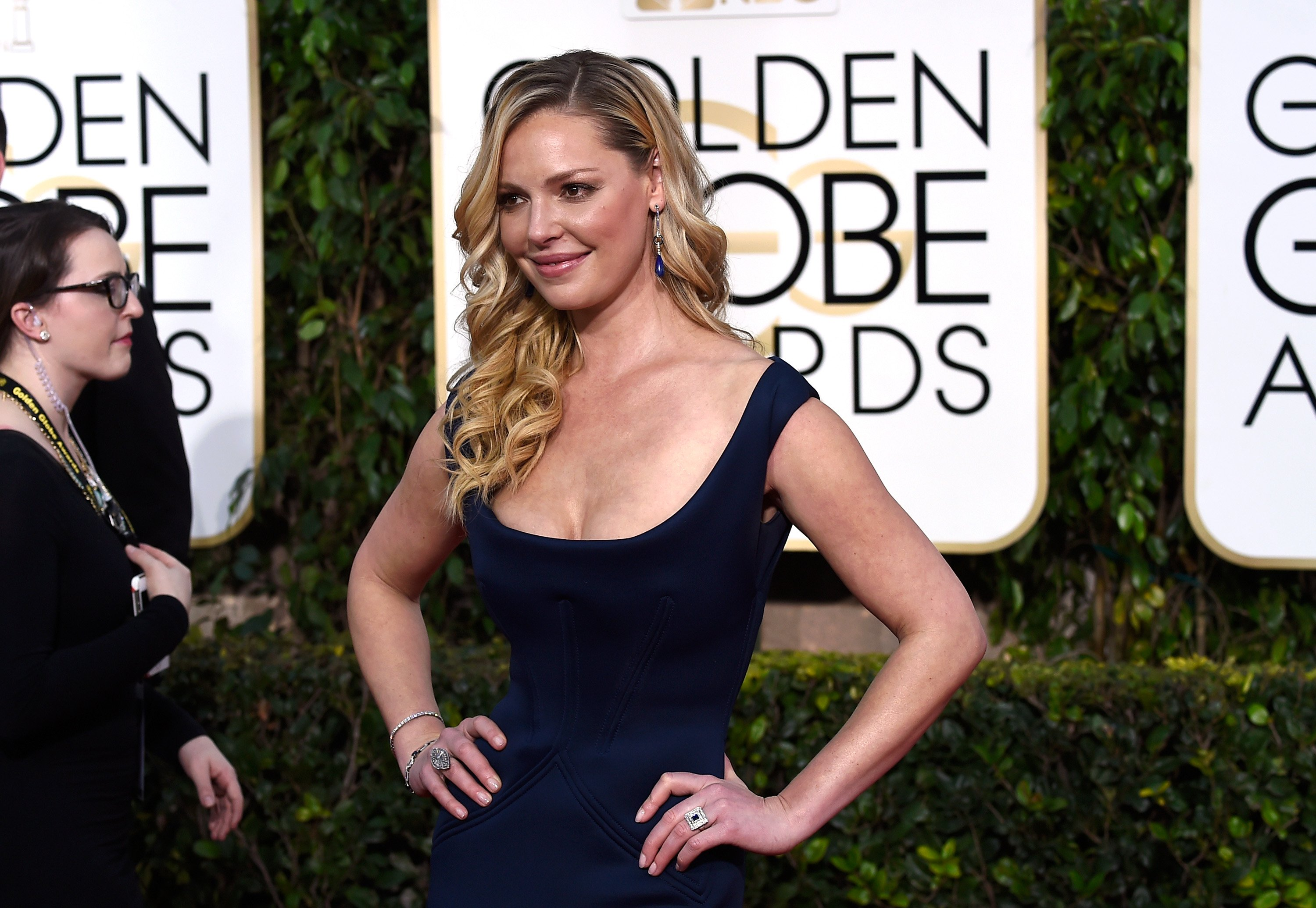 Katherine Heigl pictured at the 72nd Annual Golden Globe Awards, 2015, California. | Photo: Getty Images