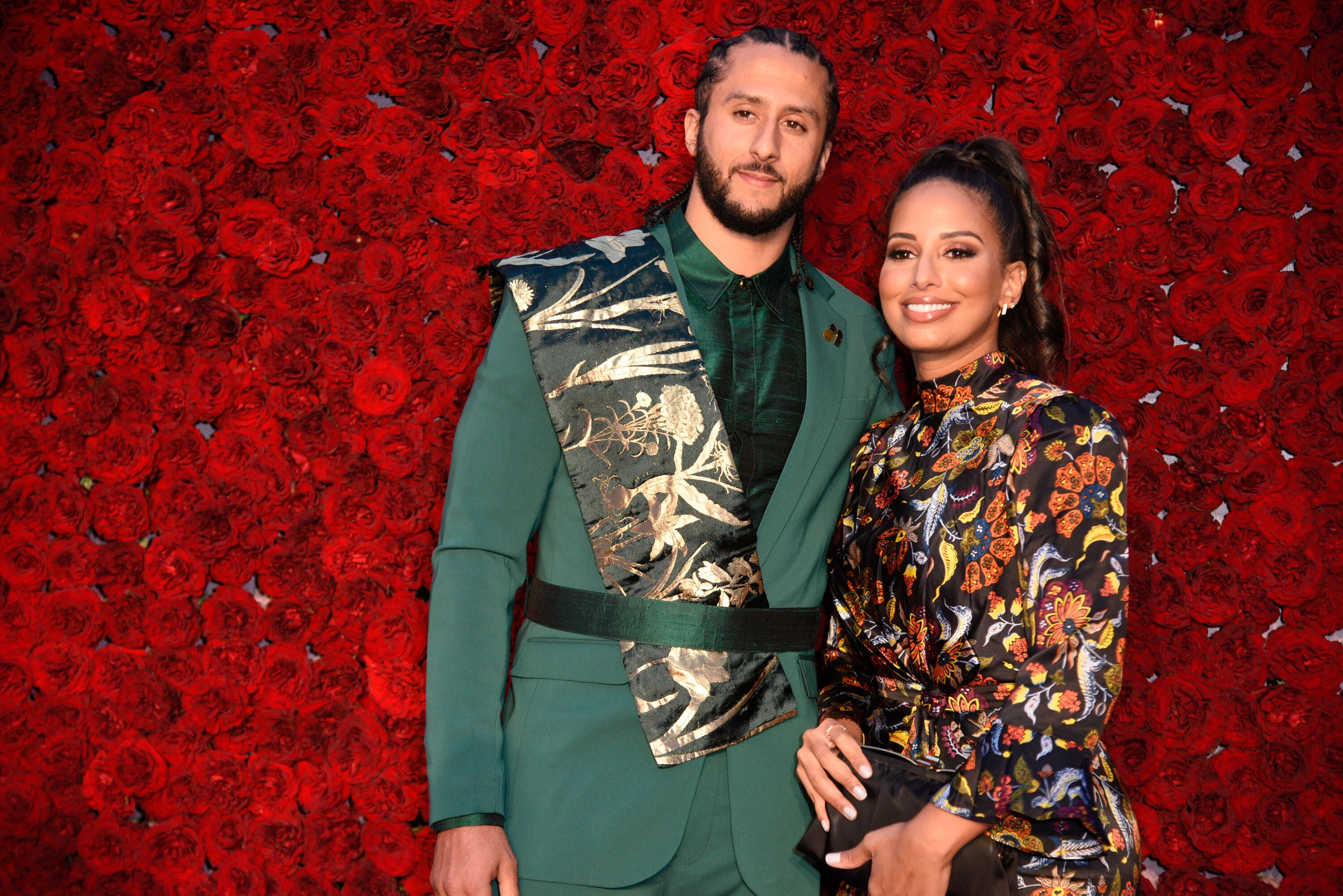 Colin Kaepernick and Nessa Diab attend Tyler Perry Studios Grand Opening Gala in 2019 in Atlanta, Georgia | Source: Getty Images