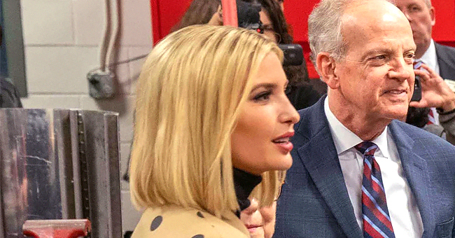 Ivanka Trump Impresses Twitter Fans with Her Polka Dot Jacket at a Kansas Event
