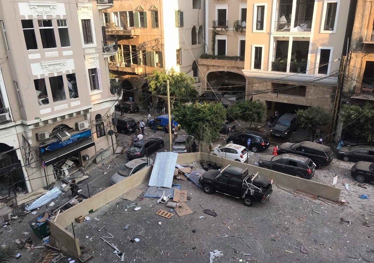 The aftermath of the Port of Beirut explosions on 4 August 2020 | Photo: Wikipedia/Anchal Vohra