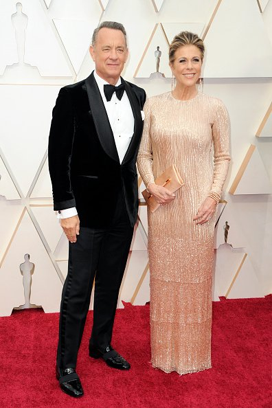 Tom Hanks et Rita Wilson arrivent à la 92ème cérémonie annuelle des Oscars à Hollywood. | Photo : Getty Images.
