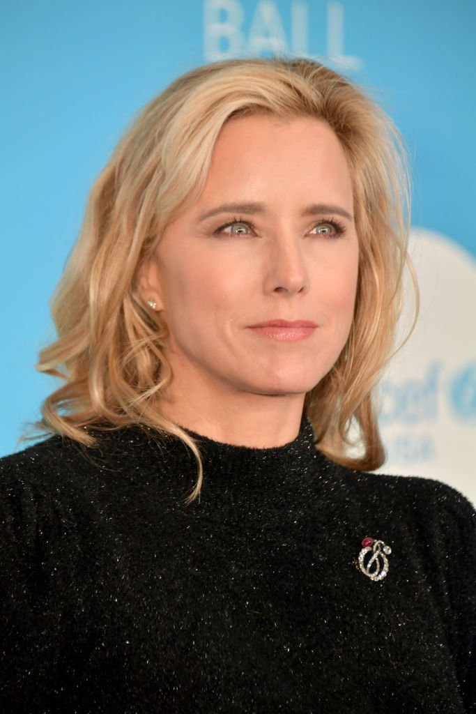 Téa Leoni attends the 14th Annual UNICEF Snowflake Ball 2018   Getty Images / Global Images Ukraine
