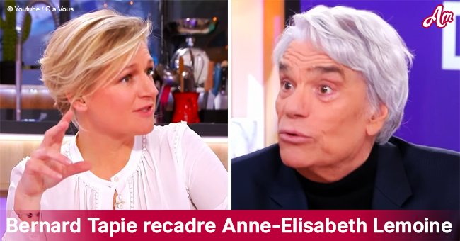 """""""Vous avez truqué ma phrase"""": Bernard Tapie recadré Anne-Elisabeth Lemoine dans C à vous"""