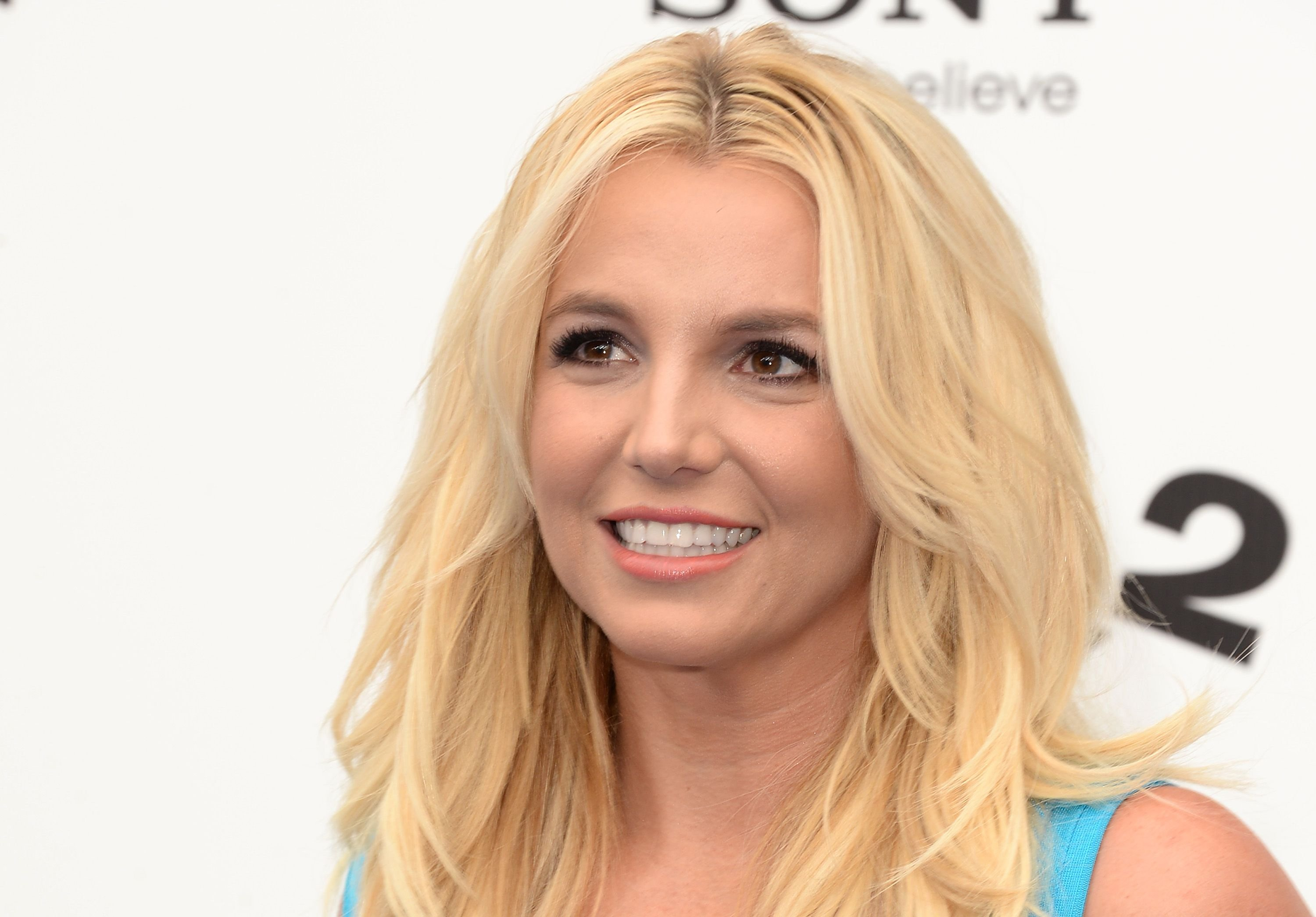 """Britney Spears at the premiere of Columbia Pictures' """"Smurfs 2"""" on July 28, 2013 in Westwood, California   Photo: Getty Images"""