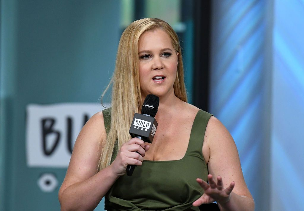 "Amy Schumer at Build Series to discuss her new comedy ""Snatched"" at Build Studio on May 2, 2017 