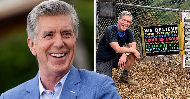 Tom Bergeron Shares First Picture since His Sudden Firing from 'Dancing with the Stars'