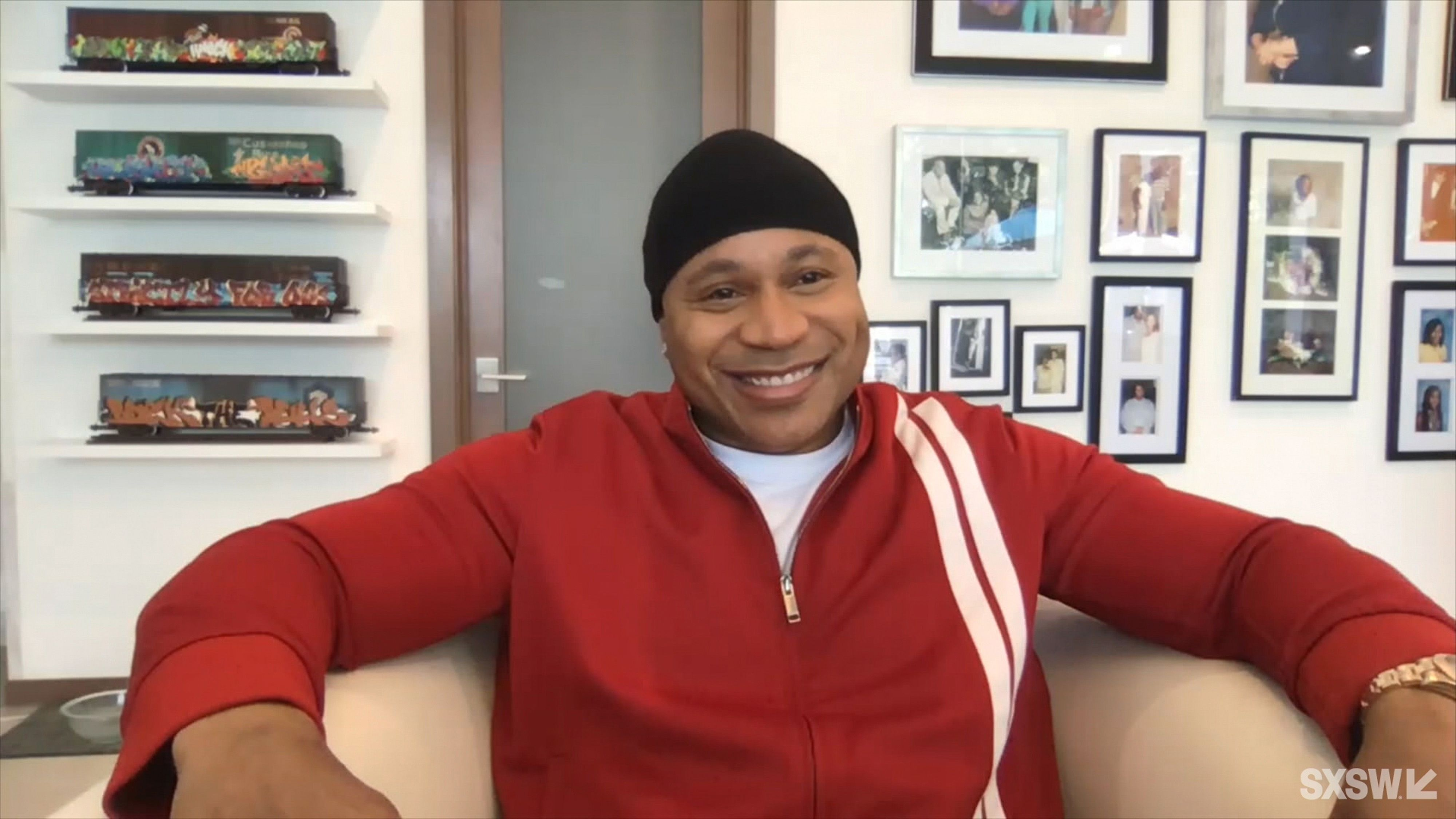 """LL Cool J at the online featured session """"A Conversation with Icons Queen Latifah and LL Cool J"""" on March 17, 2021.   Photo: Getty Images"""