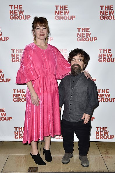 Erica Schmidt and Peter Dinklage at Irvington Bar & Restaurant on November 07, 2019 in New York City.   Photo: Getty Images