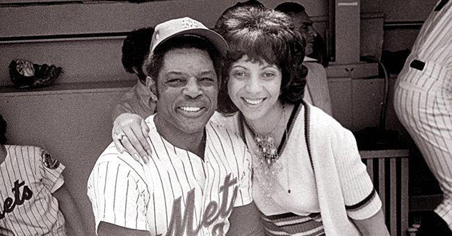 Willie and Mae Mays at a New York Mets match | Source: Getty Images