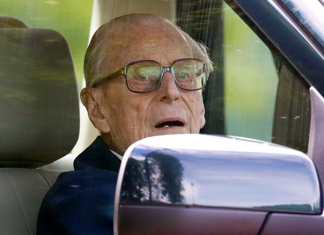 Prince Philip driving | Photo: Getty Images