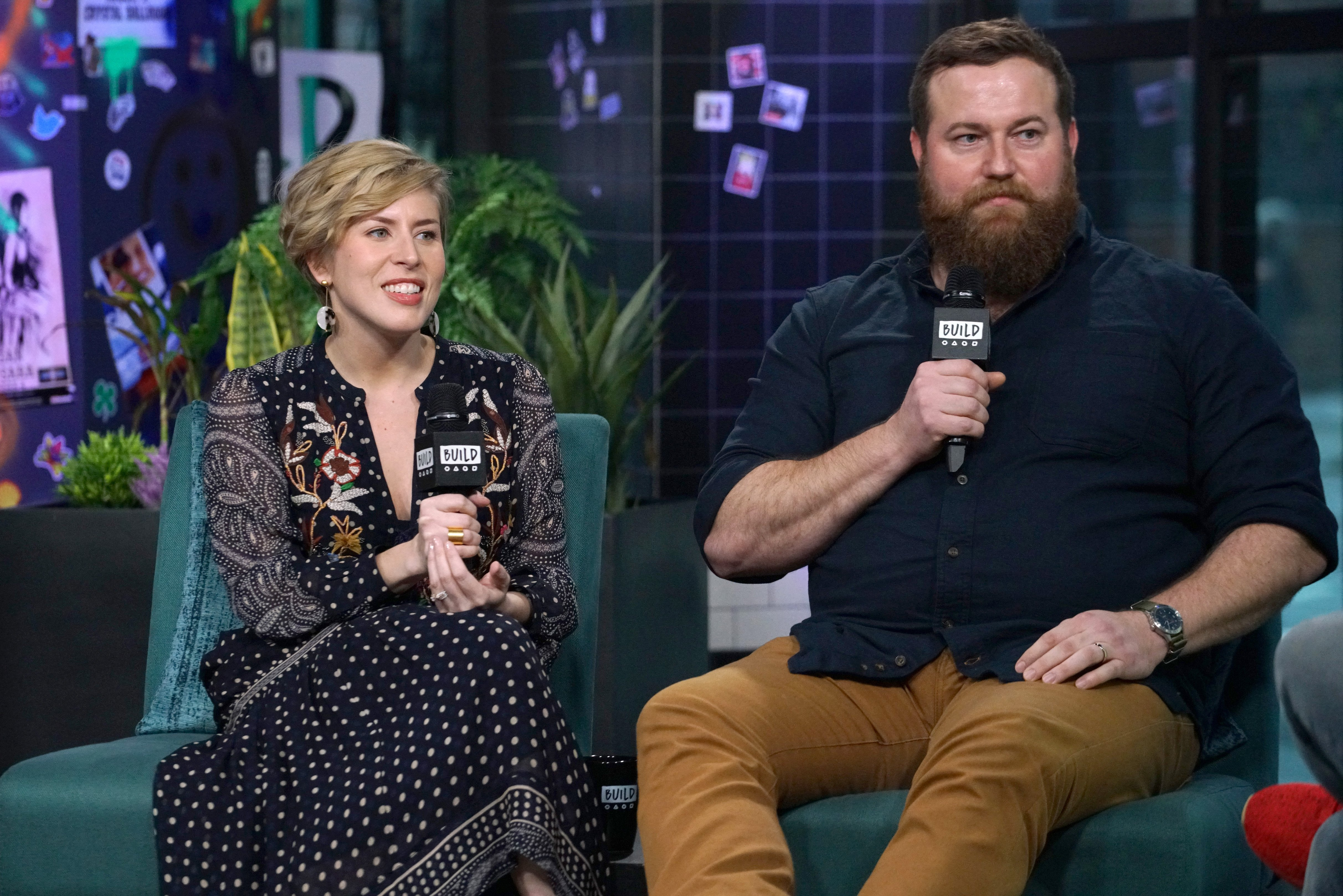 """Erin Napier and Ben Napier attend Build Series to discuss the new season of """"Home Town"""" at Build Studio on January 08, 2020 in New York City.   Source: Getty Images"""