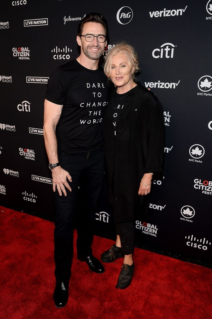 Hugh Jackman and Deborra-lee Furness attend the 2019 Global Citizen Festival: Power The Movement. | Source: Getty Images