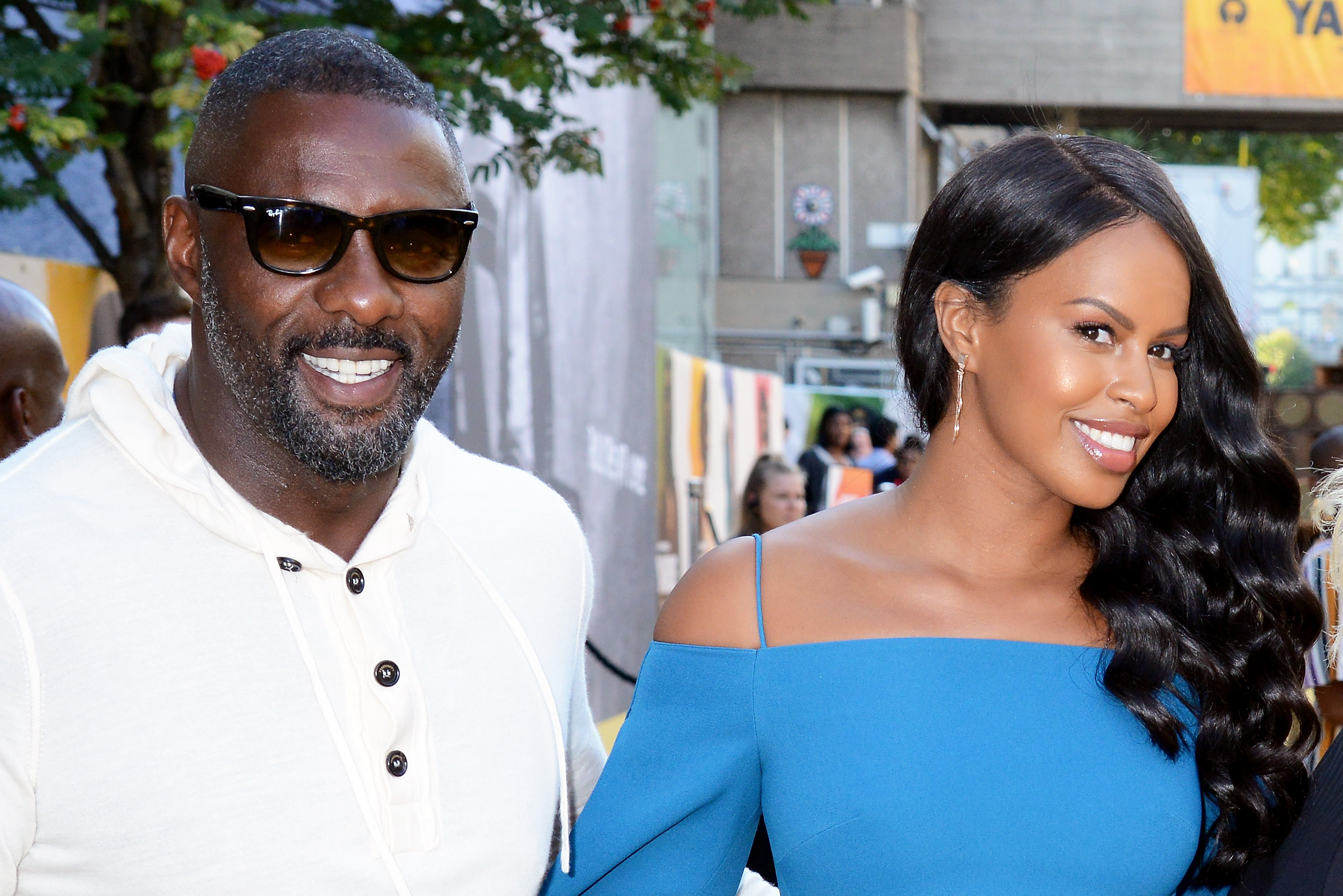 "Idris Elba & Sabrina Elba at the UK premiere of ""Yardie"" on Aug. 21, 2018 