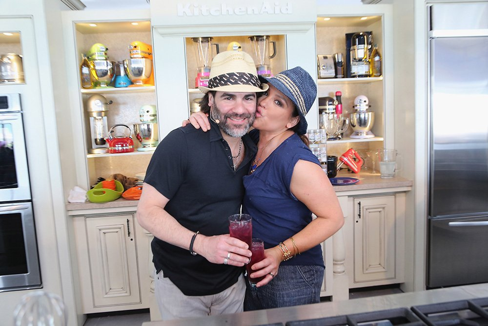 Rachael Ray and her husband John Cusimano give a culinary demonstration at the Whole Foods Market Grand Tasting Village on February 21, 2015 in Miami Beach, Florida. | Image: Getty Images.