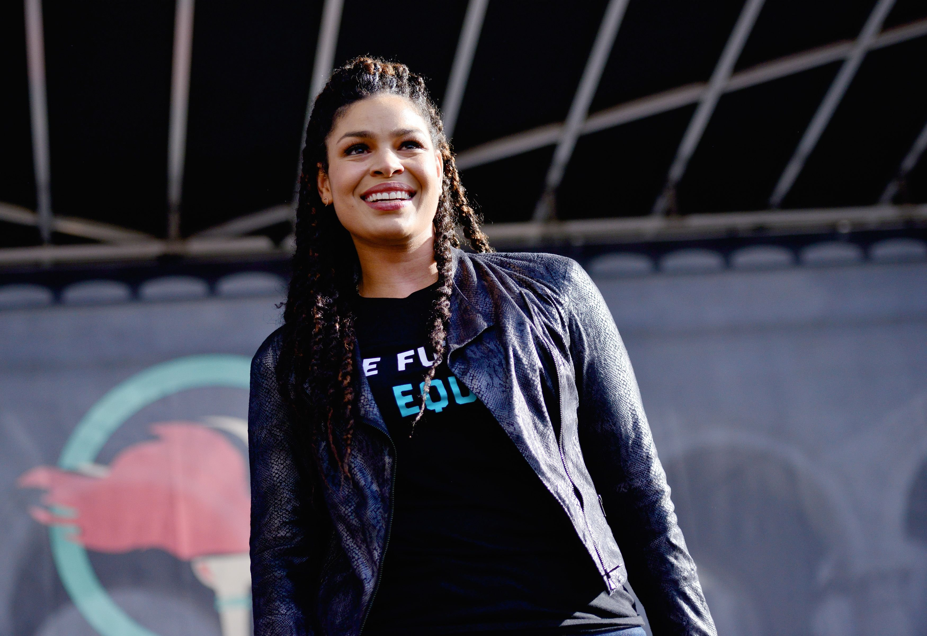 Jordin Sparks at the 4th annual Women's March LA: Women Rising at Pershing Square on January 18, 2020 | Photo: Getty Images