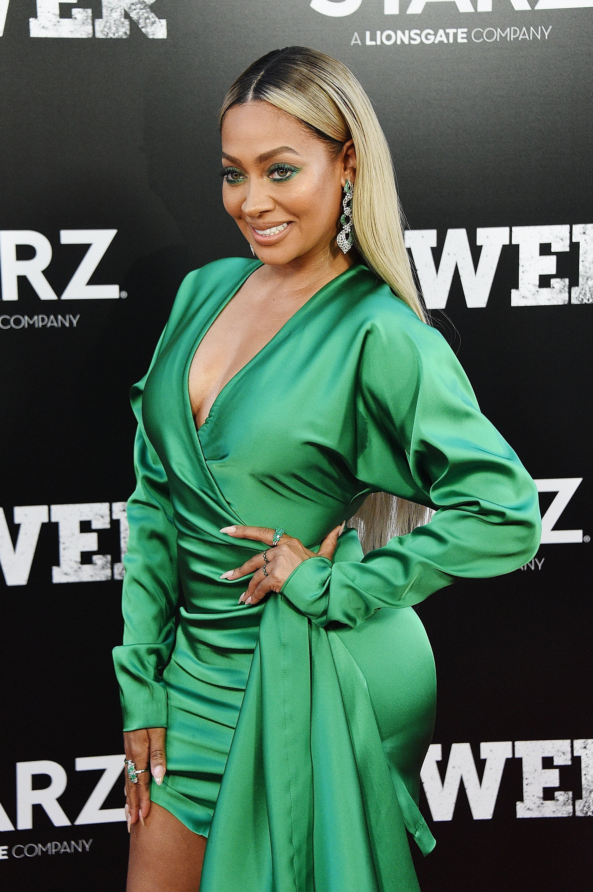 """La La Anthony at the """"POWER"""" Season 5 Premiere on June 28, 2018 in New York City 