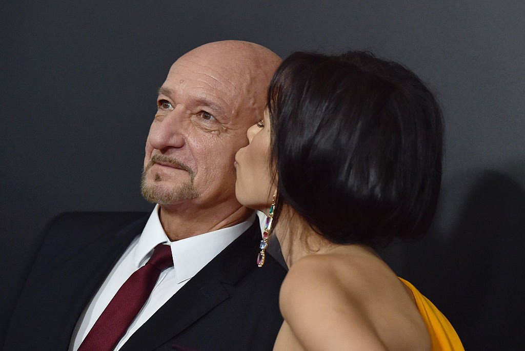 Ben Kingsley and Daniela Lavender arrive at the 20th Annual Hollywood Film Awards at the Beverly Hilton Hotel on November 6, 2016 | Photo: Getty Images
