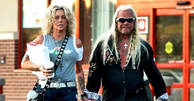 Dog the Bounty Hunter Steps Out with Fiancée Francie Frane in a Sweet Photo