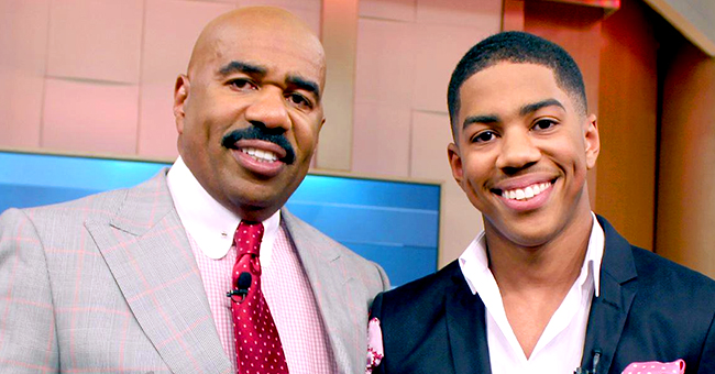 Steve Harvey's Son Leaves Cryptic Comment about Dad's Future after Show Cancellation