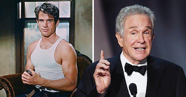 Pictures of actor Warren Beatty | Photo: Getty Images