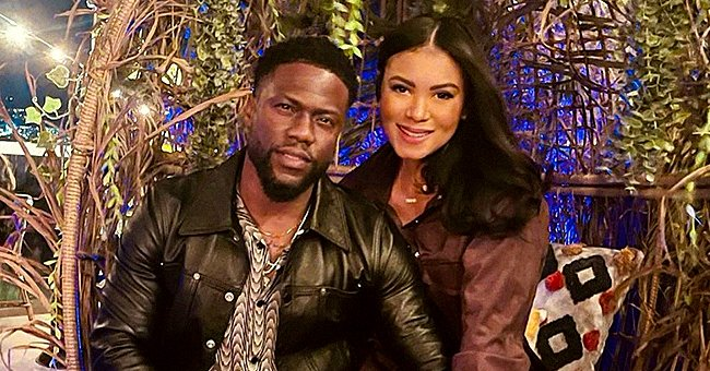 Kevin Hart's Wife Eniko Flaunts Her Curves in a Gray Bikini While Posing with Friends