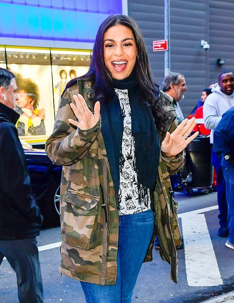Jordin Sparks at Good Morning America on November 6, 2019 | Photo: Getty Images