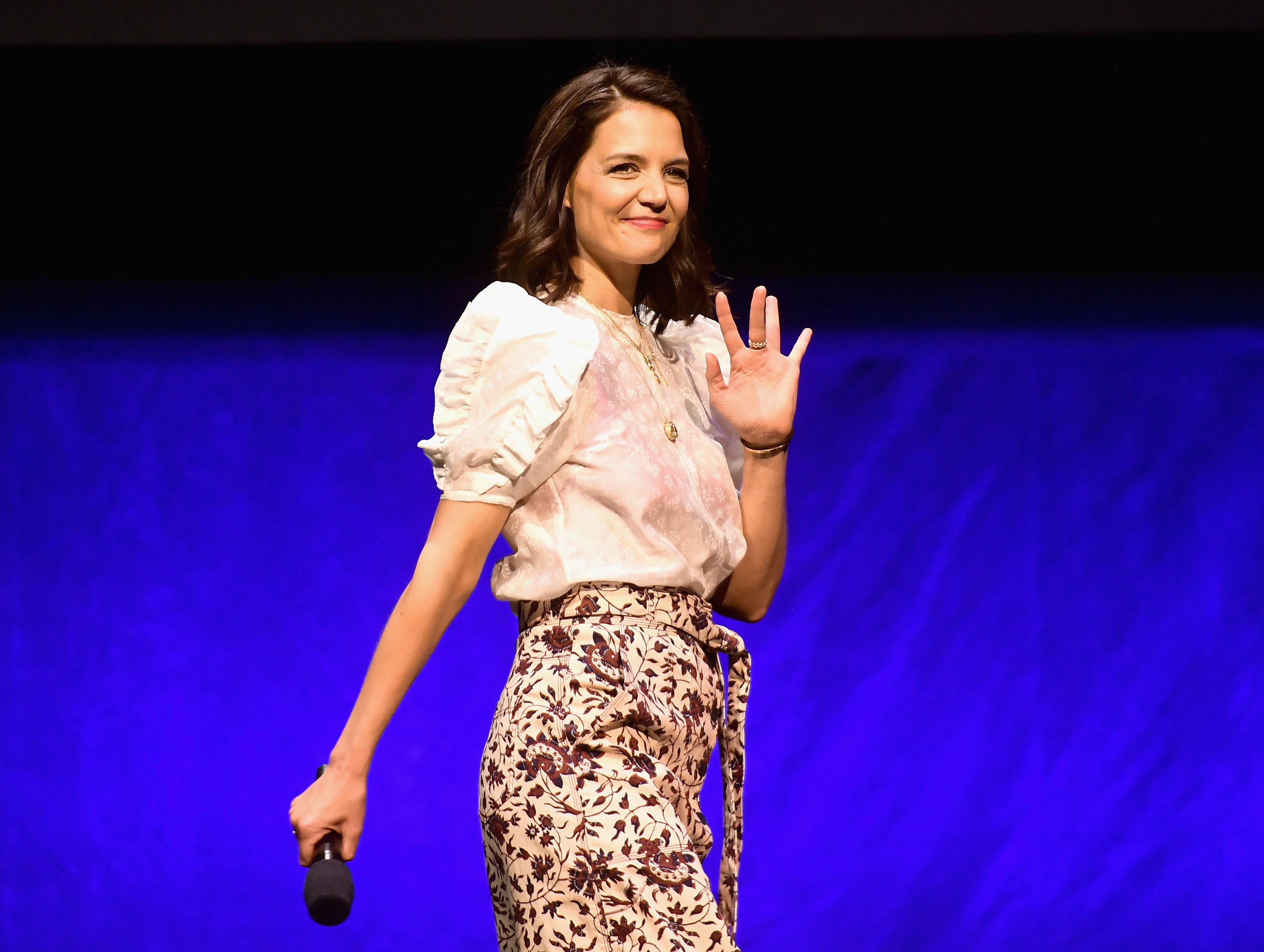 Katie Holmes attends CinemaCon 2019 in Las Vegas, Nevada on April 2, 2019 | Photo: Getty Images