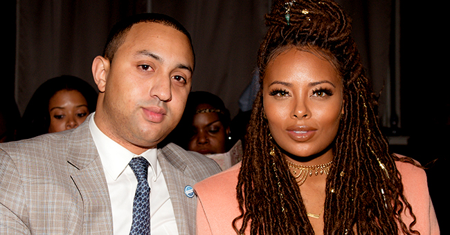 Eva Marcille of RHOA Shares New Close-Up Photo of Baby Maverick Wrapped in a Blanket