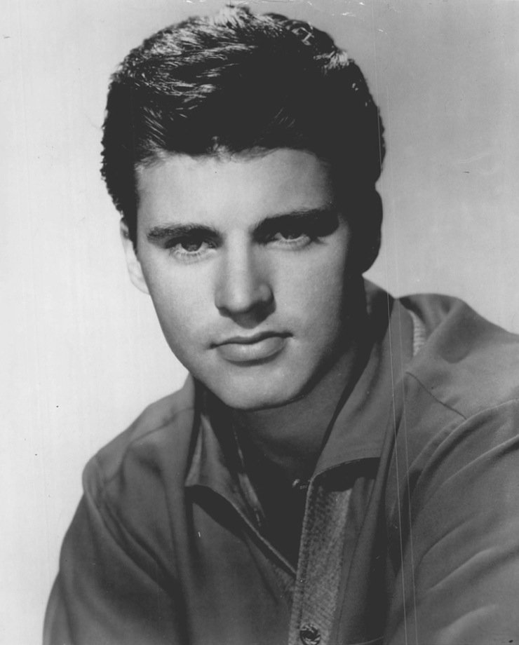 Ricky Nelson promoting him as a musical artist on Decca Records, circa 1966. | Photo: Wikimedia Commons Images