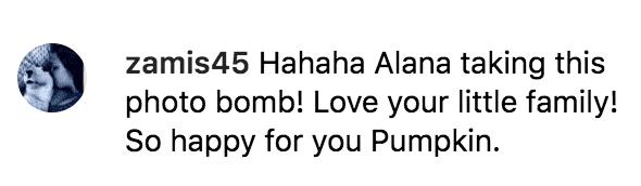 Fan's react to Lauryn 'Pumpkin' Shannon's photo   Instagram