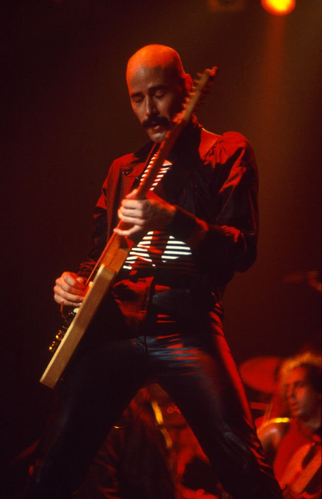 Bob Kulick, Meat Loaf, Midnight at the lost and found tour, Wembley Arena 24 septembre 1983. | Photo : Getty Images