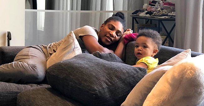 Serena Williams' Daughter Olympia Plays with Interracial Couple Dolls Just like Her Parents
