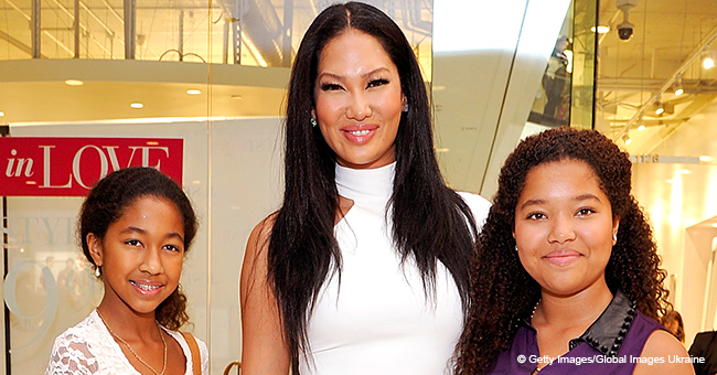 Kimora Lee Simmon's Daughter Ming Lee Posts Seductive Photo after Sister Aoki Gets into Harvard