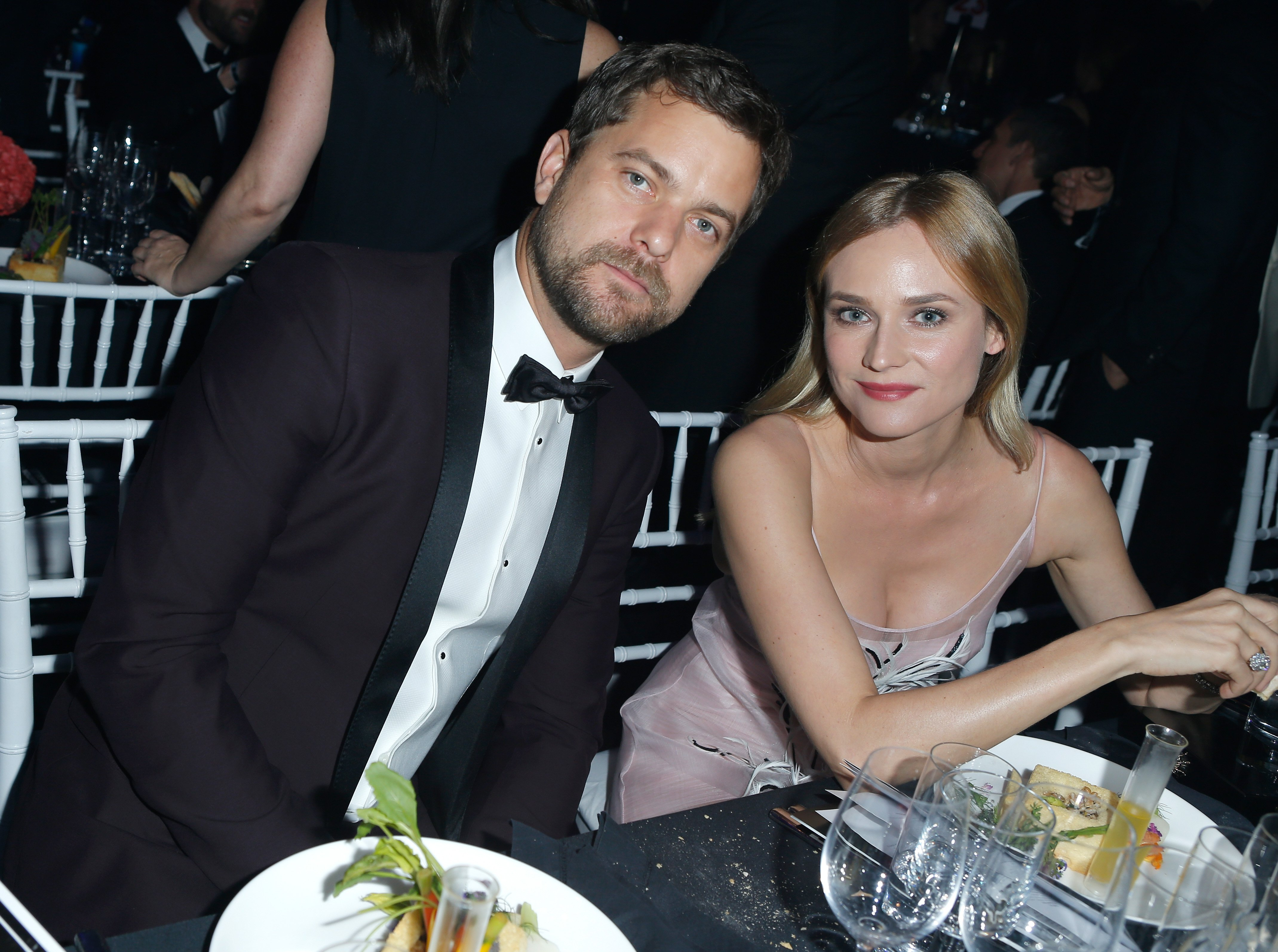 Joshua Jackson and former wife Diane Kruger in at amfAR's Inspirational Gala in October 2015. | Photo: Getty Images