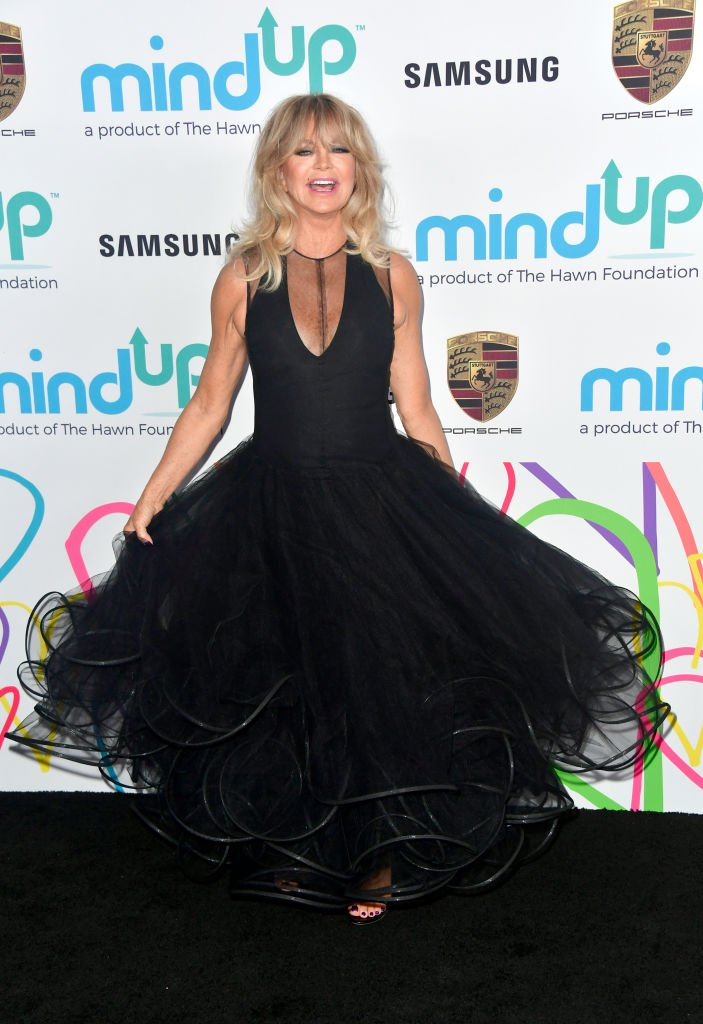 Goldie Hawn attends Goldie's Love In For Kids on November 3, 2017, in Beverly Hills, California. | Source: Getty Images.
