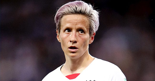 US soccer player Megan Rapinoe.   Photo: Getty Images