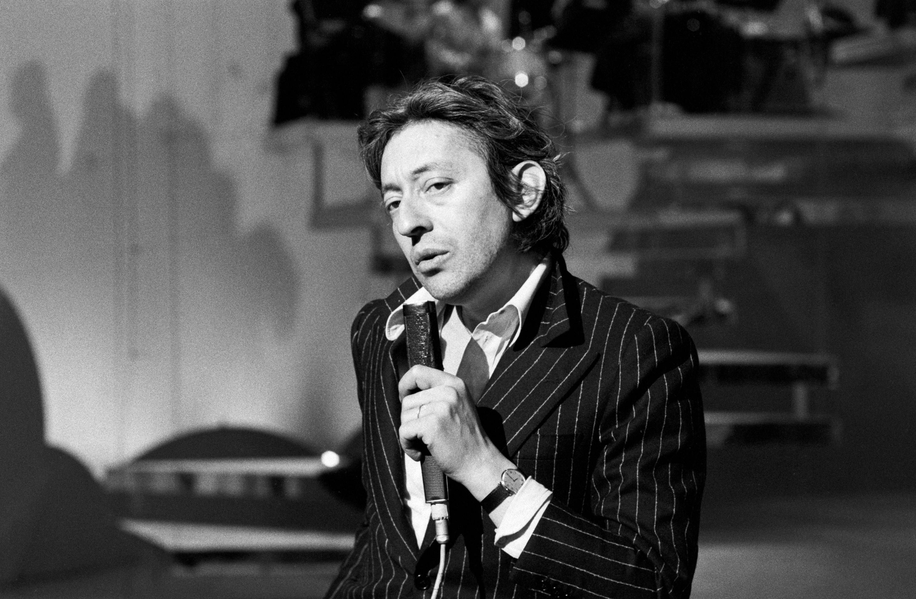 L'inoubliable Serge Gainsbourg. l Source : Getty Images