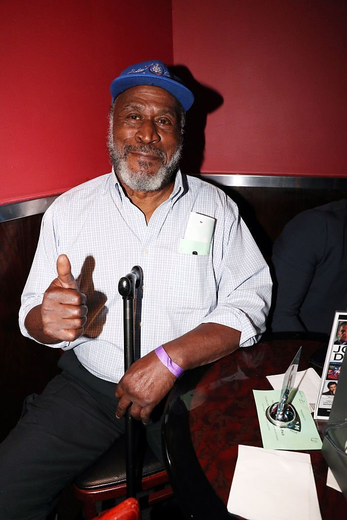 John Amos attends the Rashad Jennings Foundation's 2nd Annual Giant Night Of Comedy at Gotham Comedy Club | Photo: Getty Images