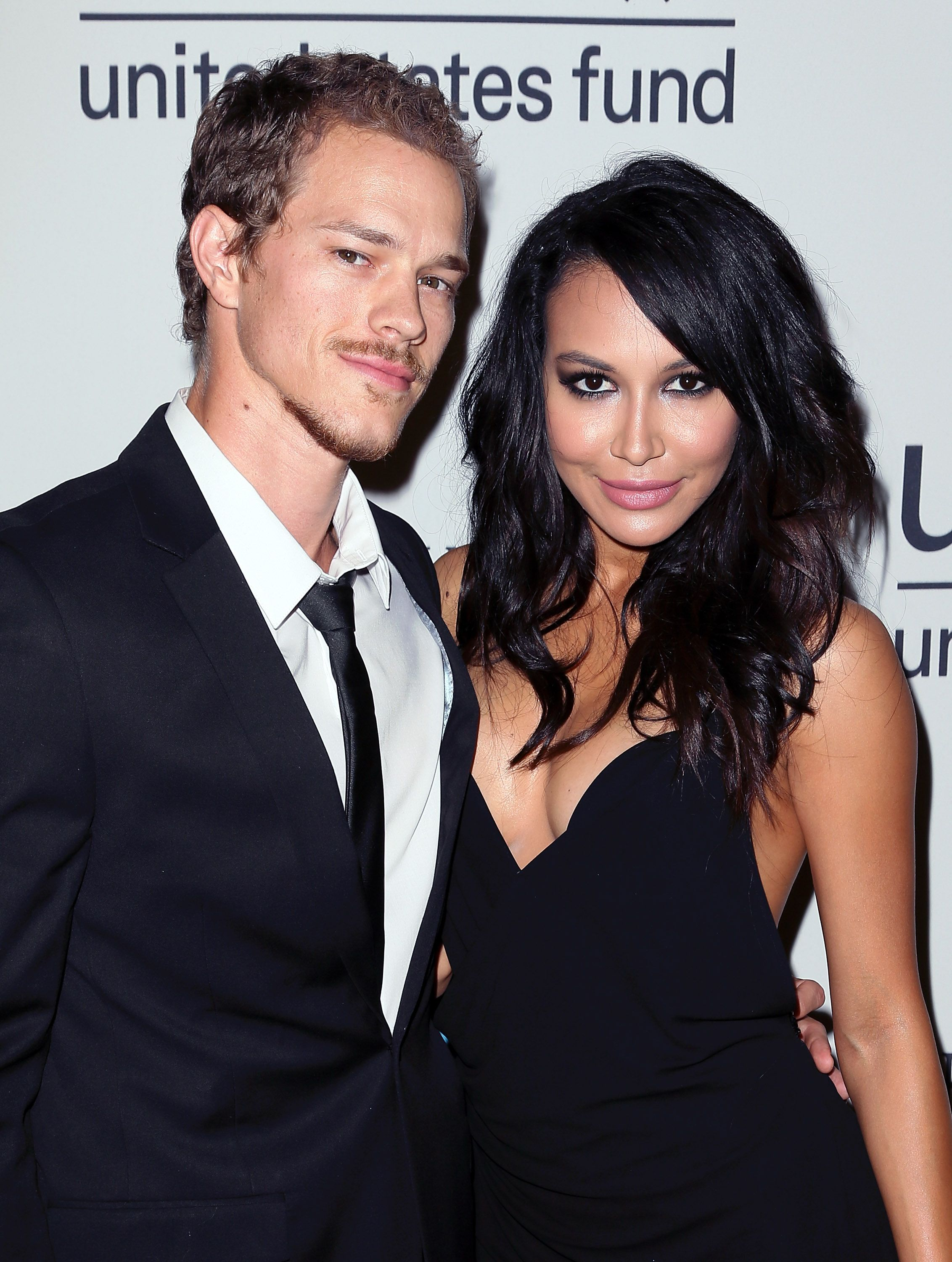 Ryan Dorsey and the late Naya Rivera at the UNICEF's Next Generation's 2nd Annual UNICEF Masquerade Ball at Hollywood Forever Cemetery on October 30, 2014 | Photo: Getty Images