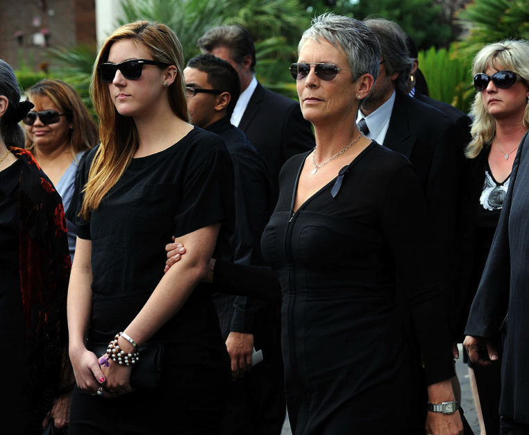 Image Credits: Getty Images/ Tony Curtis Funeral