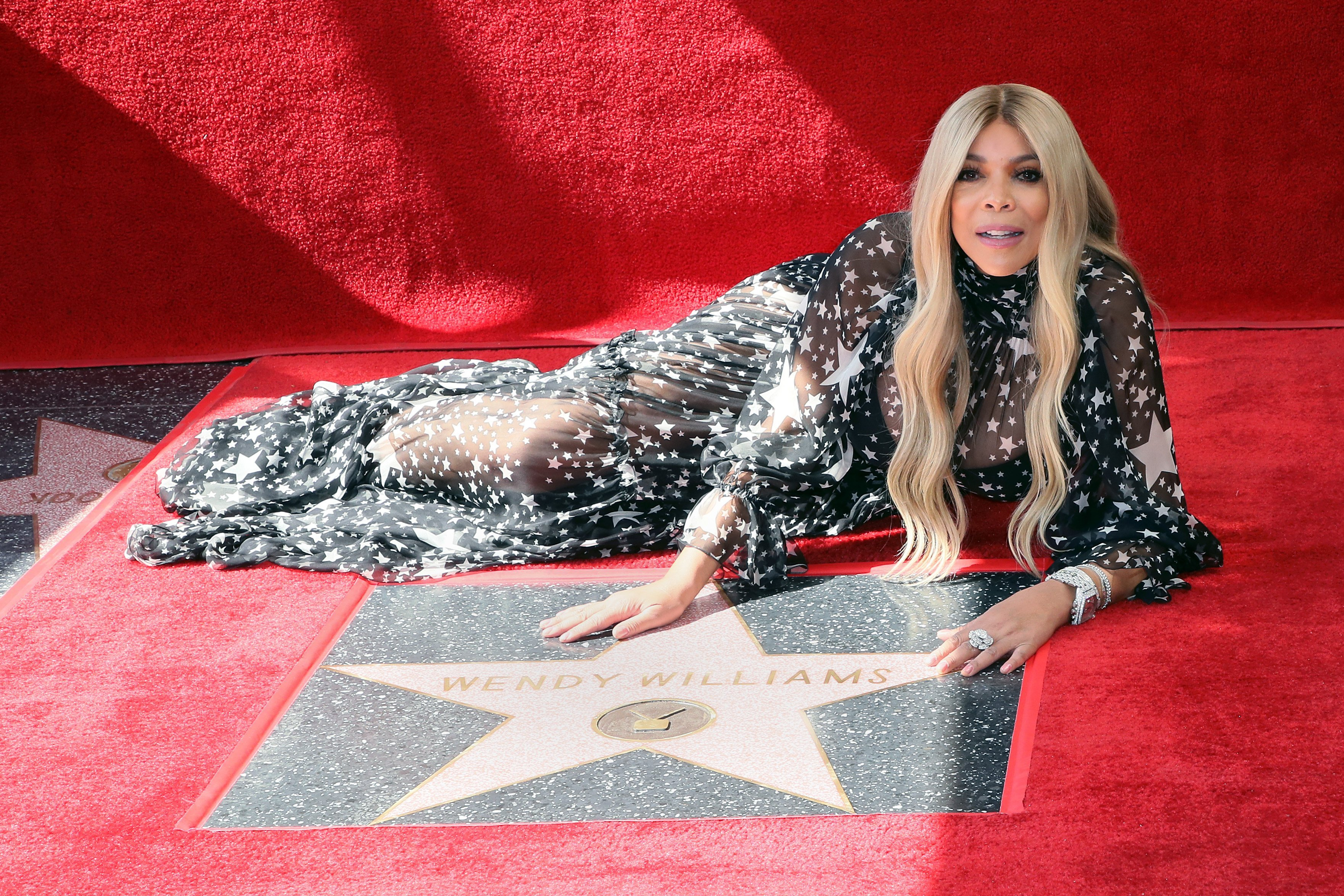 Wendy Williams is honored with a Star on the Hollywood Walk of Fame on Oct. 17, 2019 in Hollywood, California | Photo: Getty Images