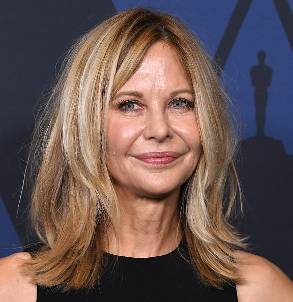 Meg Ryan arrives at the Academy Of Motion Picture Arts And Sciences' 11th Annual Governors Awards at The Ray Dolby Ballroom at Hollywood & Highland Center on October 27, 2019 in Hollywood, California | Photo: Getty Images