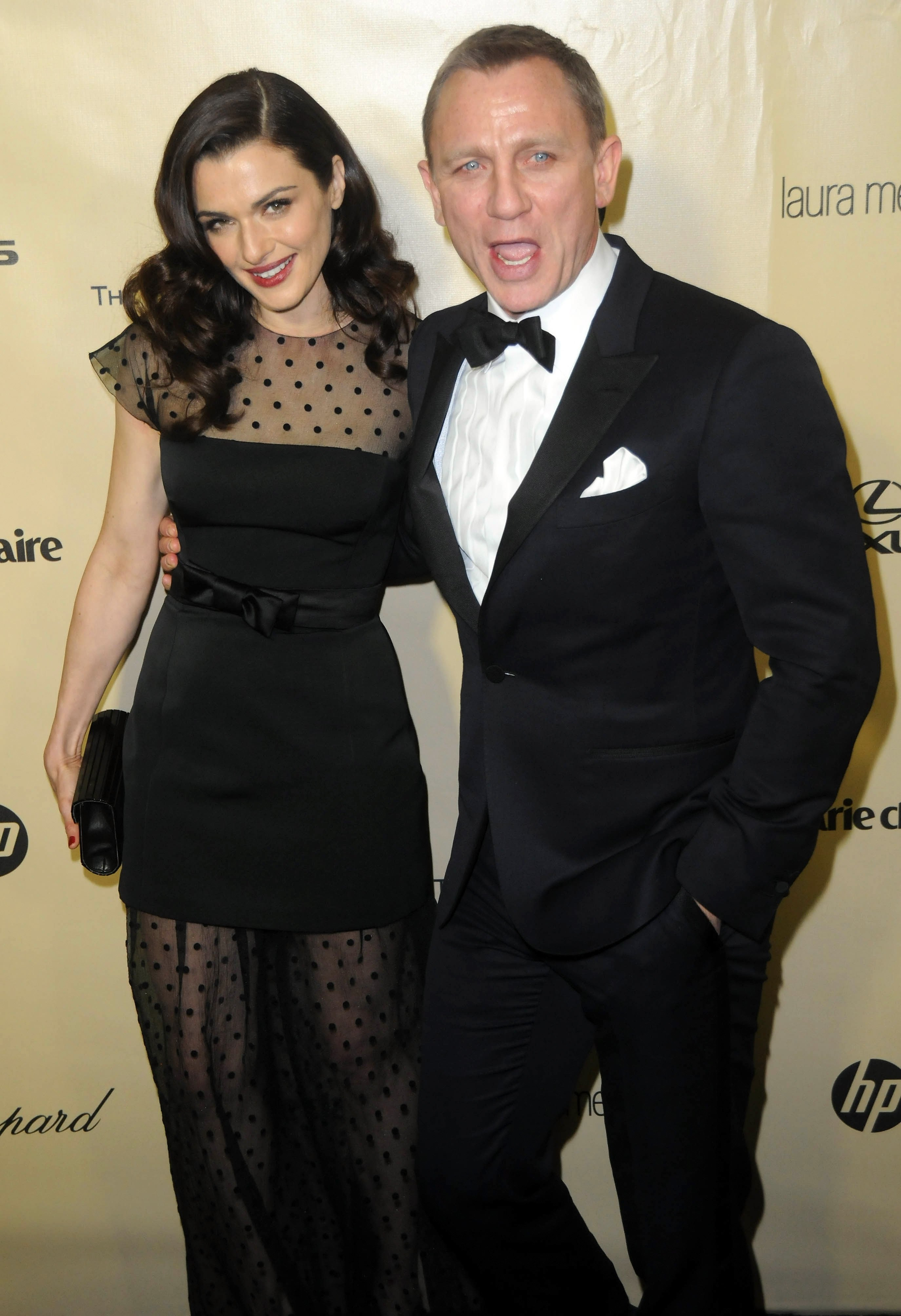 Rachel Weisz and Daniel Craig attend the Golden Globe Awards After Party in Beverly Hills, California on January 13, 2013 | Photo: Getty Images