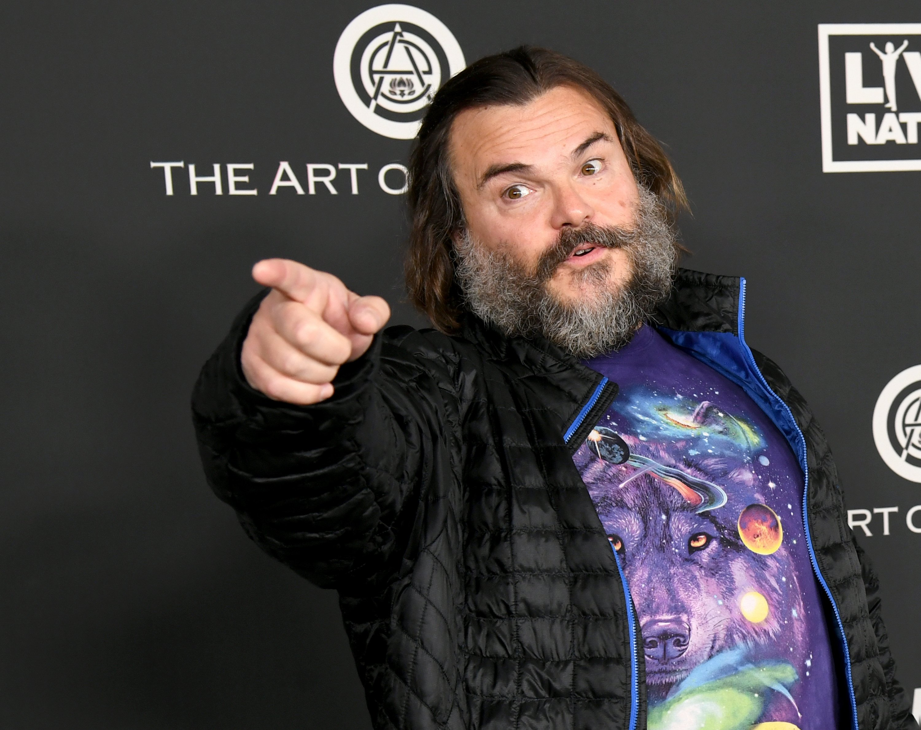Jack Black arrives at the Art Of Elysium's 13th Annual Celebration - Heaven on January 04, 2020 | Photo: Getty Images