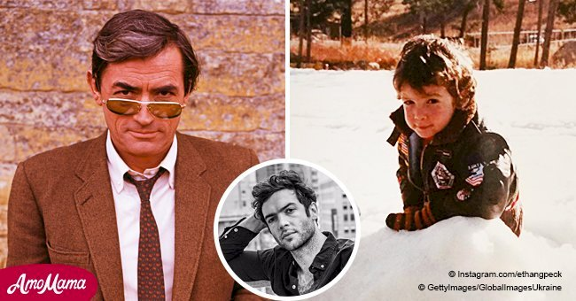 Gregory Peck's grandson Ethan is all grown up and he looks a lot like his Oscar-winning grandad