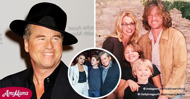 Val Kilmer's son is 23 years old now and he looks so similar to his famous dad