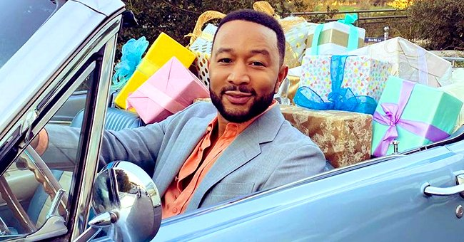 John Legend Melts Hearts Smiling with His 2 Look-Alike Kids Luna & Miles in This Precious Snap