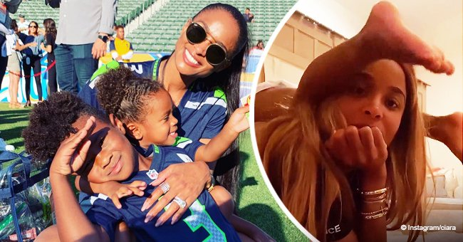 Pregnant Ciara Shows off What's Happening in Her Home during Quarantine Day 20 in a Video